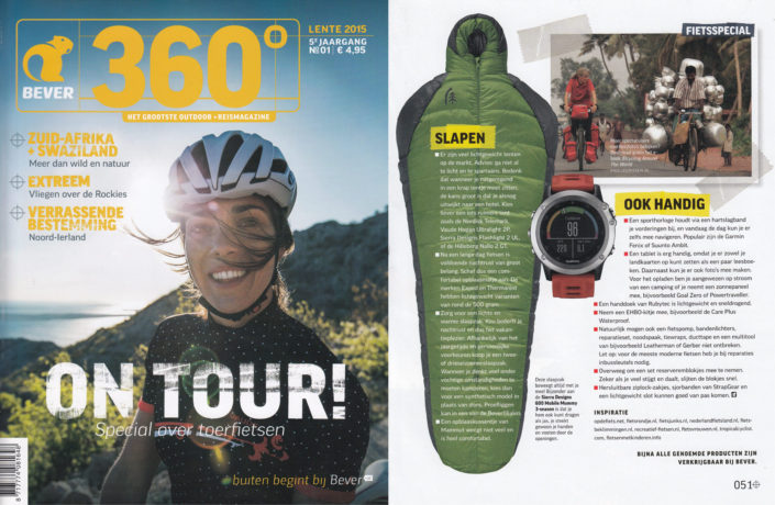 Paul's photo appears in 360 magazine