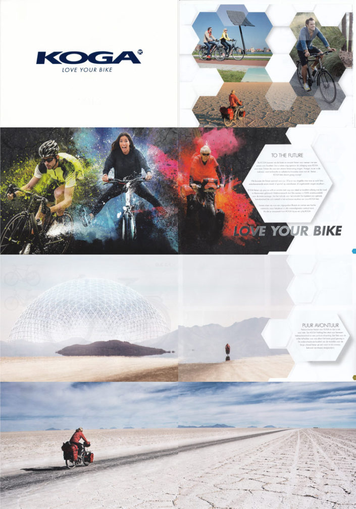Paul's salar photos in the Koga bicycles 2015 catalogue