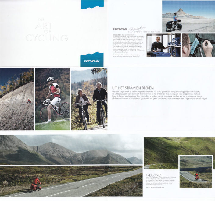 Scotland cycling photos in the Koga bicycle catalogue.