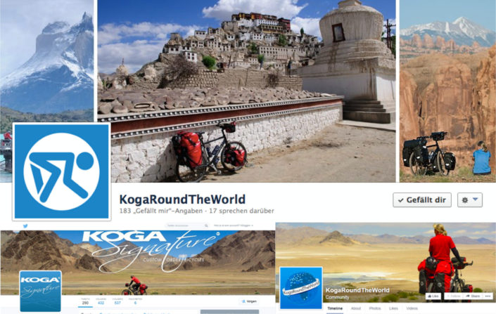 Koga bicycles social media headers