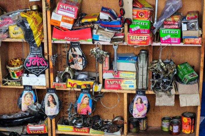 A bicycle shop in Kathmandu, Nepal