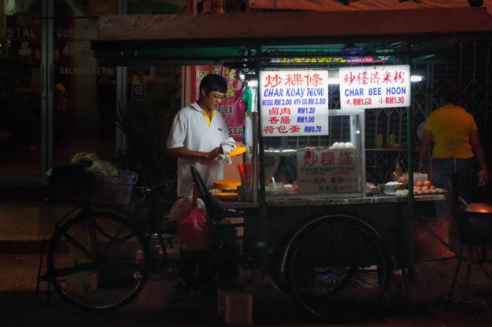 A food cart in Penang, Malaysia