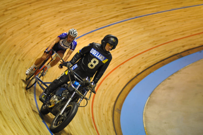 Bike track racing in the Netherlands