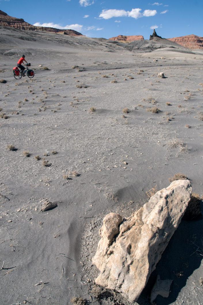 Pedaling through the Utah desert