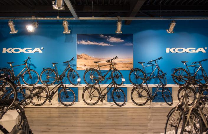 foto voor Koga bicycles trekking segment.