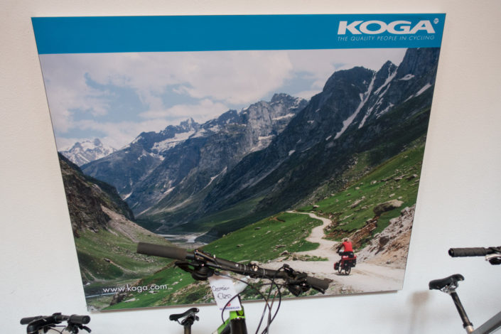 Koga bicycles trekking poster