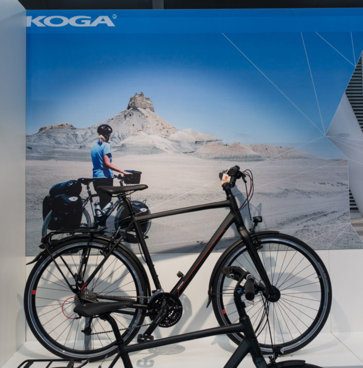 Shop poster for Koga Bicycles