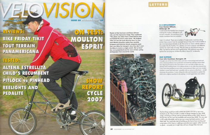 Paul's bike culture photo in Velo Vision